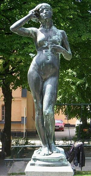 Per Hasselberg - Snöklockan at Mariatorget, Stockholm.