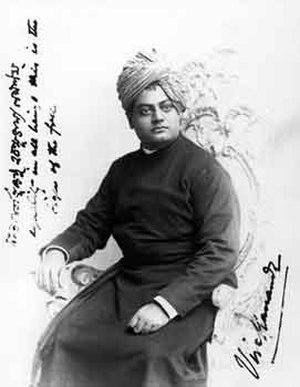 Ajit Singh of Khetri - Swami Vivekananda September 1893 Chicago. Ajit Singh financed Vivekananda's tour to the West.