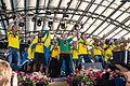 Sweden national under-21 football team celebrates in Kungsträdgården 2015-3.jpg