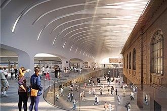 John McAslan - Image: Sydney Central Station, John Mc Aslan + Partners