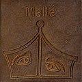 Symbol of Malta by Helmut Blažej, Bleiburg.jpg