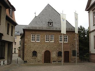 Rashi - Exterior of Rashi's Synagogue, Worms, Germany