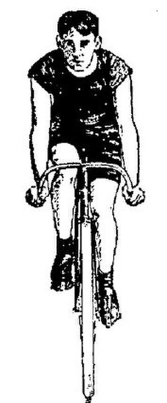 John Wilkinson (Franklin automobile) - English racer bicycle, Syracuse Sunday Standard, June 14, 1896