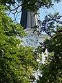 Szent Erzsébet-templom, torony, óra, 2019 Veresegyház.jpg