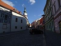Třebíč, Hasskova, od Karlova náměstí.jpg