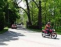 Třeboň, Jiráskova, motorka a auto autoškoly (01).jpg