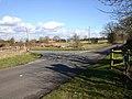 T-junction on Gospel Oak Lane - geograph.org.uk - 1730698.jpg