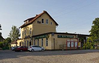 Wünsdorf-Waldstadt station - Wünsdorf-Waldstadt railway station