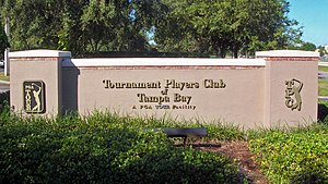 TPC Tampa Bay Golf Club, Lutz, Hillsborough Co...
