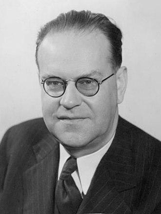 Tage Erlander - Erlander in 1949
