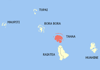 Tahaa Commune in French Polynesia, France