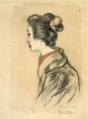 TakehisaYumeji-1919-Sketch A Woman.png
