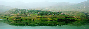 Taleqan County - Image: Taleghan Lake