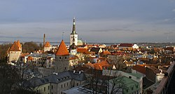 Tallinn view from Toompea