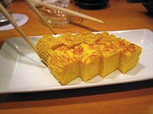 Tamagoyaki - Image: Tamagoyaki by naotakem in Tokyo