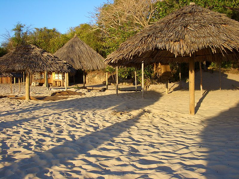 File:Tanzania beach hut.JPG