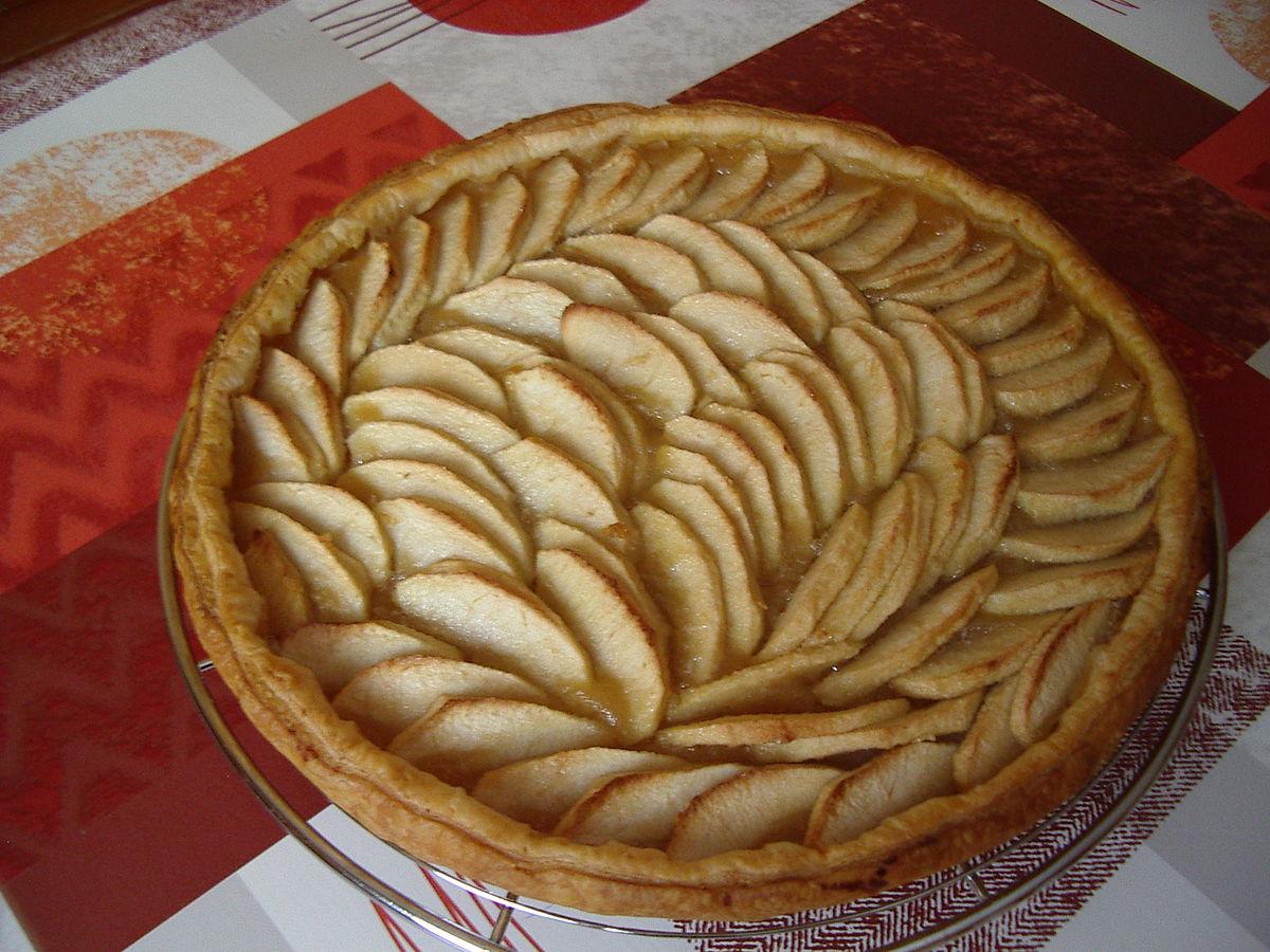 Tarte aux pommes wikip dia - Tarte soleil aux pommes ...