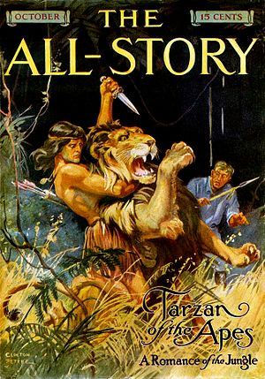 English: Tarzan of the Apes, by Edgar Rice Bur...