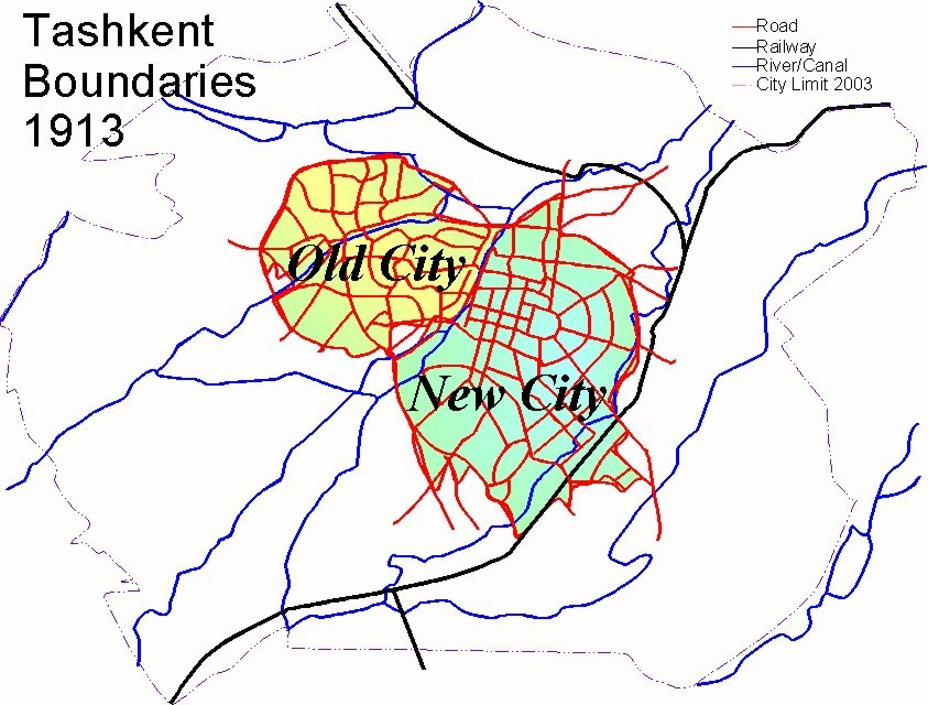 Tashkent History 1913