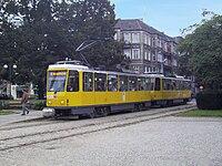Tatra T6A2D in 2009, Szczecin