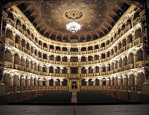 Teatro Comunale di Bologna - The auditorium of the Teatro Comunale di Bologna