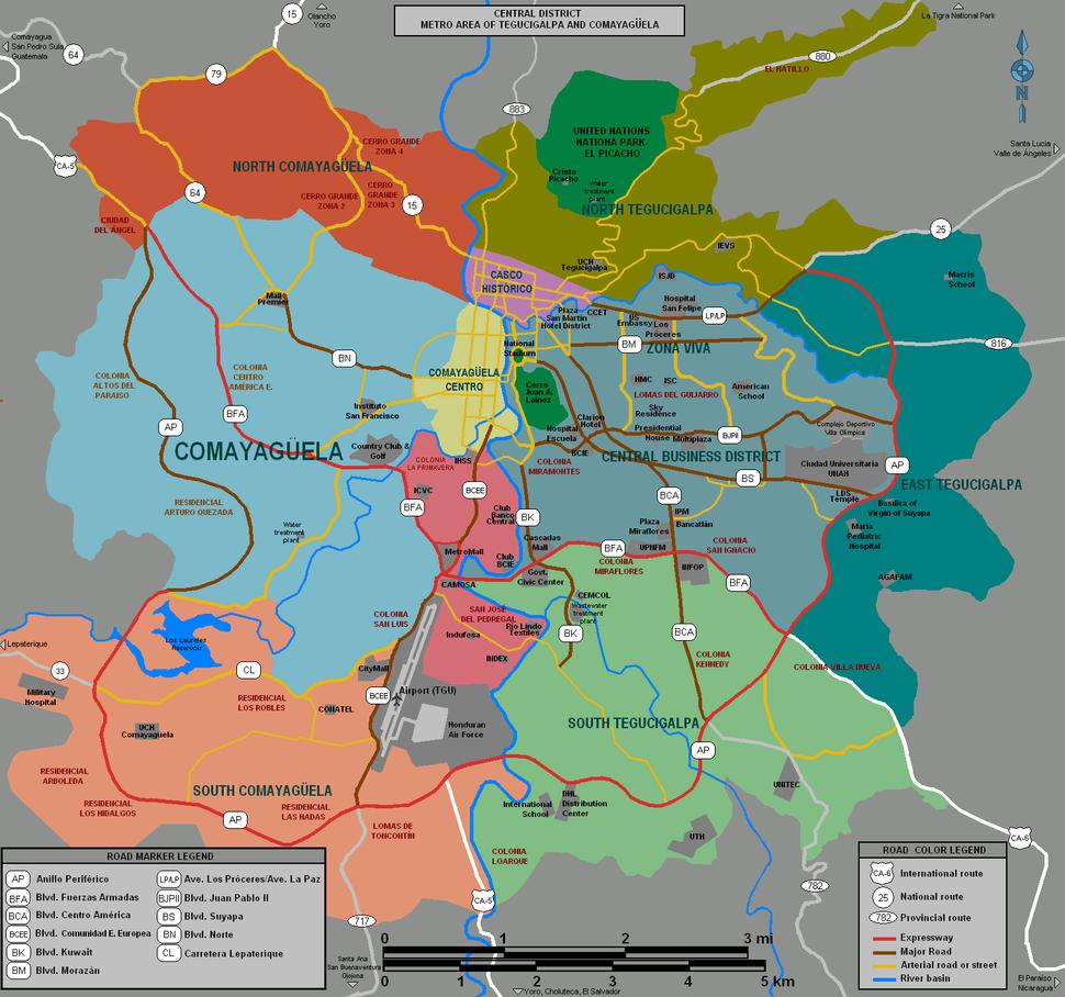 Tegucigalpa Map 7