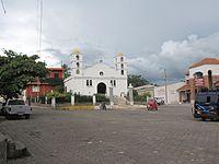 Templo Catolico de Agua Blanca, Jutiapa, Guatemala. - panoramio.jpg