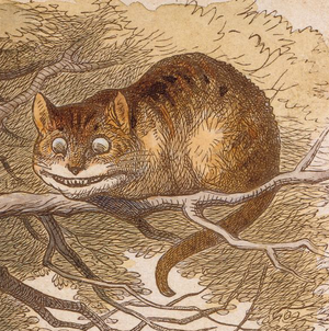 Cheshire Cat - The Cheshire cat as illustrator John Tenniel envisioned it in the 1865 publication