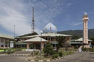 Tenom District - Image: Tenom Sabah Masjid Ar Rahman 02