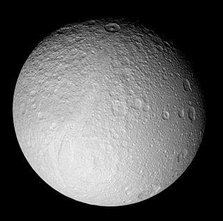 Ithaca Chasma chasma on Tethys