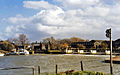 Tewkesbury - River Avon, Weir and old Railway Bridge 1724722 9f99a51a.jpg