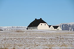 One of the most traditional houses in Iceland.