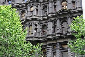 Block Arcade, Melbourne - Image: The Block Arcade facade, Melbourne