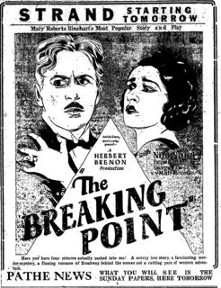 <i>The Breaking Point</i> (1924 film) 1924 film