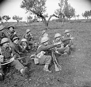 The British Army in Italy 1943 NA9912