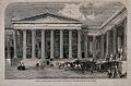 The British Museum; the entrance facade, during the delivery Wellcome V0013527.jpg