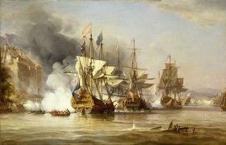 The Capture of Puerto Bello, 21 November 1739