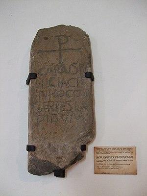 Penmachno - The Carausius Stone