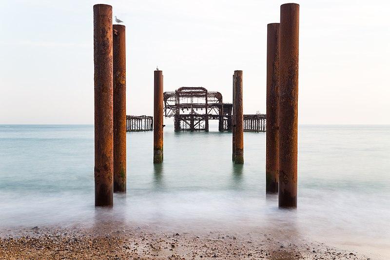 File:The Derelict West Pier of Brighton.jpg
