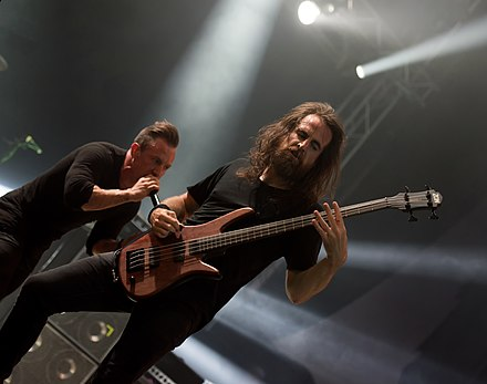 The Dillinger Escape Plan performing at Wacken Open Air 2017 The Dillinger Escape Plan - Wacken Open Air 2017 09.jpg