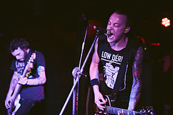 The Flatliners live in Brisbane, Australia in 2013