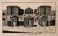 The Foundling Hospital, Holborn, London; a bird's-eye view o Wellcome V0013457.jpg