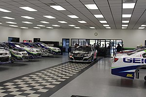 Germain Racing - The Germain Race Shop, located in Mooresville, North Carolina in November 2016.