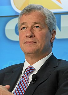 Jamie Dimon - the gracious, intelligent, passionate,    with American roots in 2019