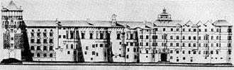 Hofburg, Innsbruck - Hofburg prior to the Baroque reconstruction
