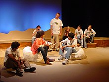 The Laramie Project group scene