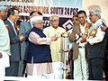 The Minister for Small Scale Industries and Agro and Rural Industries, Shri Mahabir Prasad inaugurating the Shilpa Banijya Mela South 24-Parganas, Baruipur, West Bengal on January 6, 2006.jpg