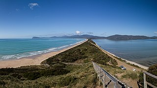 Bruny Island Neck Car Park Ruined