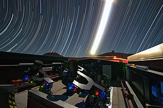 Next-Generation Transit Survey - NGTS observations at night