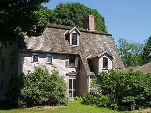 Manse - The Old Manse,  Concord, Massachusetts.